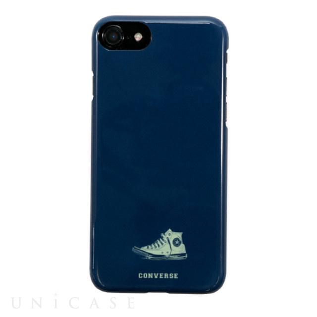 a305fe5b91 iPhone8/7/6s/6 ケース】ハードケース (Have a good time navy) CONVERSE ...