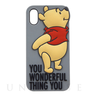 【iPhoneXS/X ケース】SILICONE iPhone CASE (GY)