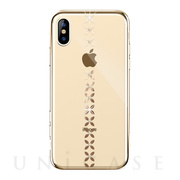 【iPhoneXS/X ケース】lucky star Crystal Case (Gold)