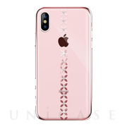 【iPhoneXS Max ケース】lucky star Crystal Case (Rose gold)