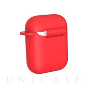 【AirPods ケース】Naked Silicone Case (Red)