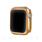 【AppleWatch Series5/4(40mm) ケース】Gold-plated APPLE watch4 case (Gold)