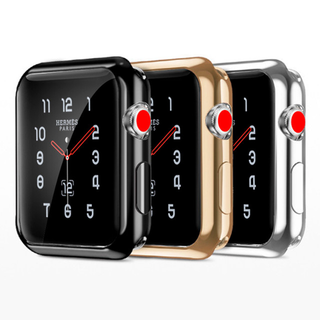 【AppleWatch Series4(44mm) ケース】Gold-plated APPLE watch4 case (Black)サブ画像