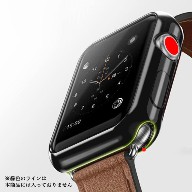 【AppleWatch Series5/4(44mm) ケース】Gold-plated APPLE watch4 case (Silver)goods_nameサブ画像