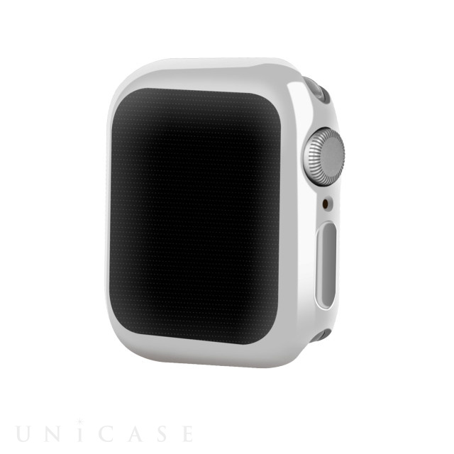 【AppleWatch Series5/4(44mm) ケース】Gold-plated APPLE watch4 case (Silver)