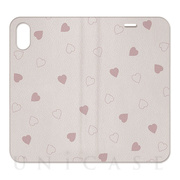 【iPhoneXS/X ケース】2WAY CASE (Heart)