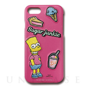 【iPhone8/7 ケース】The Simpsons Embroidery case (Sugar junkie)