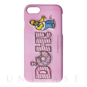 【iPhone8/7 ケース】The Simpsons Embroidery case (D'OH!)