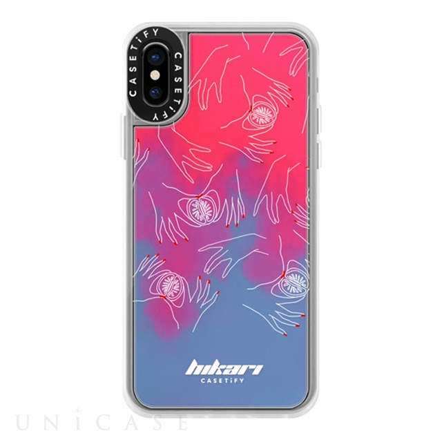 【iPhoneXS/X ケース】Dirty Jokes Neon Sand Case (Handy Dandy)
