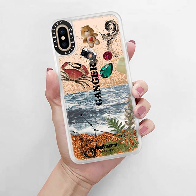 【iPhoneXS/X ケース】Horoscope Collection Case (Cancer)サブ画像