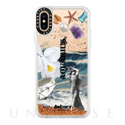 【iPhoneXS/X ケース】Horoscope Collection Case (Aquarius)