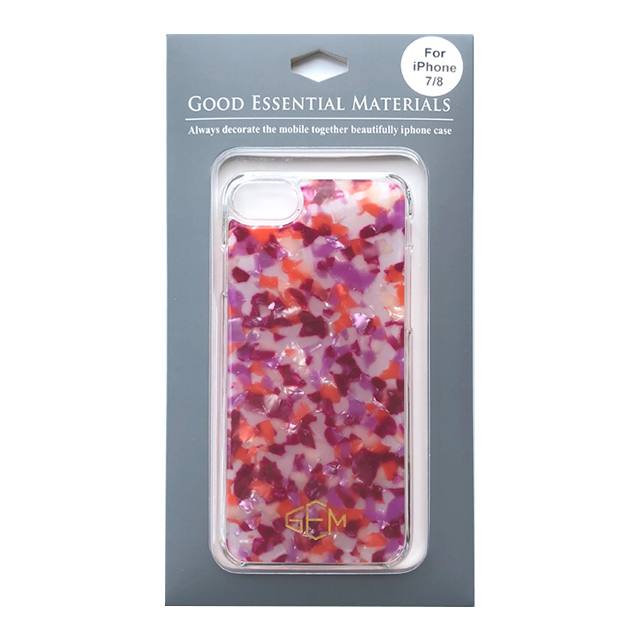 【iPhone8/7/6s/6 ケース】GOOD ESSENTIAL MATERIALS (ベリーミックス)