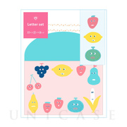 AIUEO Letter set (FRUITSCHAN)