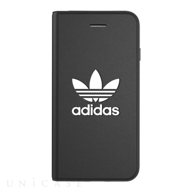 b28313dfadef iPhone8/7/6s/6 ケース】TPU Booklet Case BASIC (black/white) adidas ...