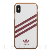【iPhoneXS/X ケース】Moulded Case SAMBA (collegiate burgundy)