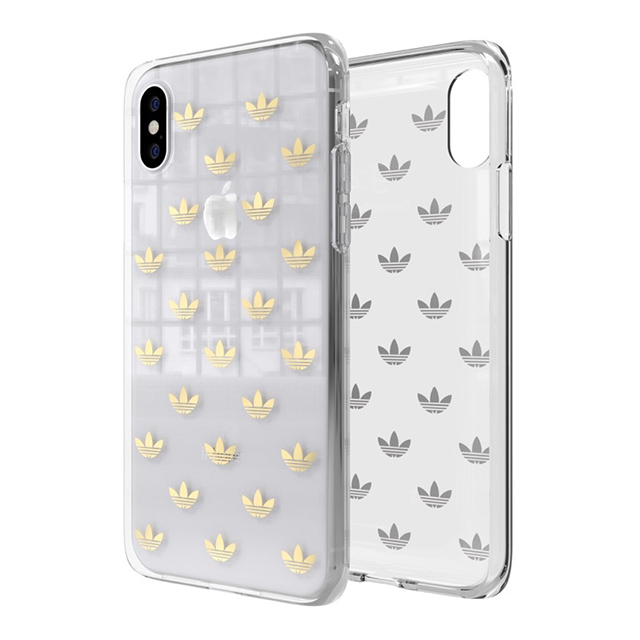 【iPhoneXS/X ケース】Clear Case (gold colored)サブ画像
