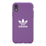 【iPhoneXR ケース】adicolor Moulded Case (active purple)