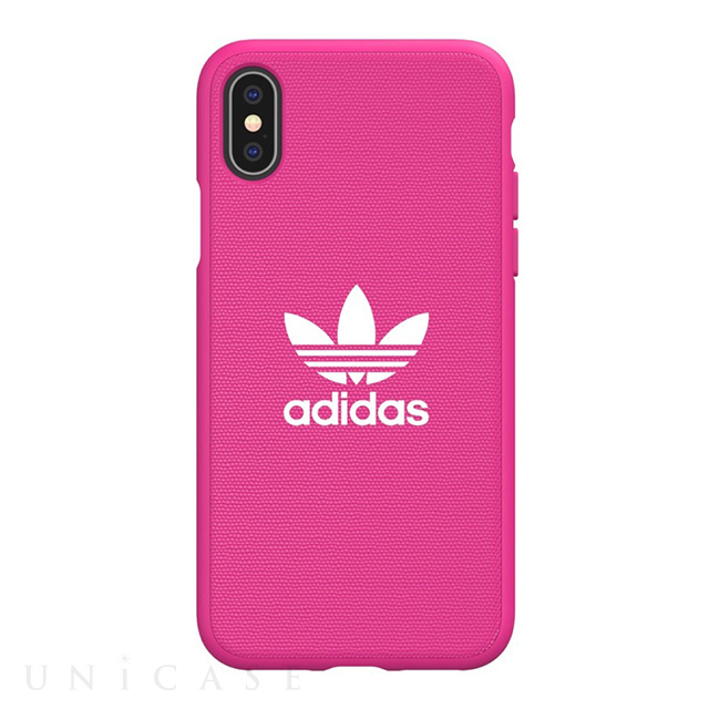 【iPhoneXS/X ケース】adicolor Moulded Case (shock pink)