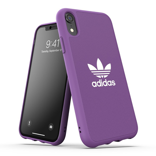 adidas(アディダス) 【iPhoneXR ケース】adicolor Moulded Case (active purple)