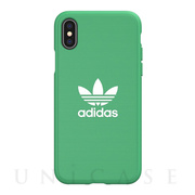 【iPhoneXS/X ケース】adicolor Moulded Case (hi-res green)