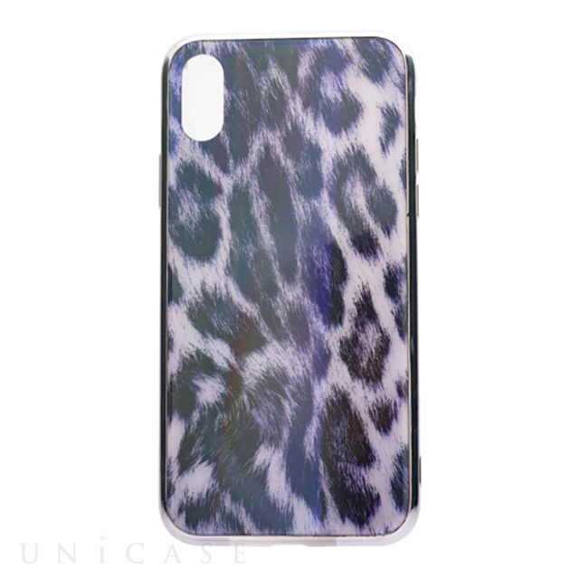 070c6e5ab9 iPhoneXS Max ケース】レオパードガラスケース (ホワイト) AMVAR ...
