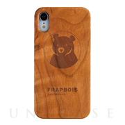 【iPhoneXR ケース】WOODケース (A Solid BEAR)