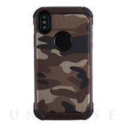 【iPhoneXS/X ケース】Gizmobies+SELECT×Gizmobies CAMO (BROWN)