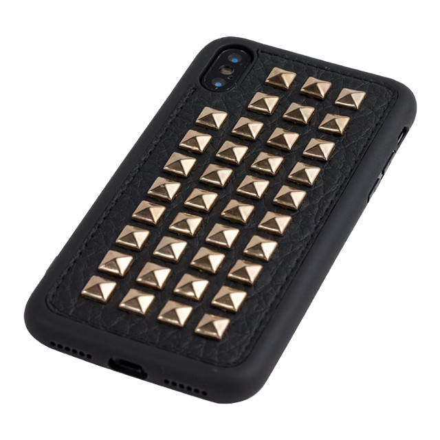 【iPhoneXS/X ケース】Gizmobies+SELECT×Gizmobies STUDS (SQUARE GOLD)サブ画像