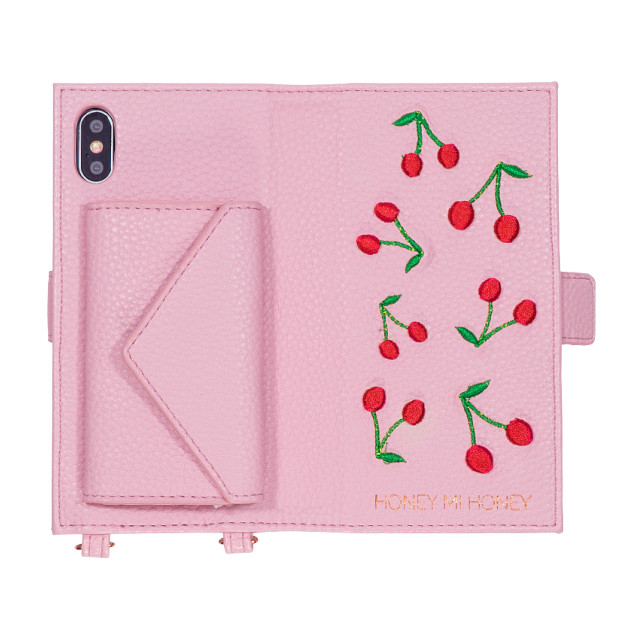 【iPhoneXS/X ケース】cherry book iPhone case (PNK)サブ画像