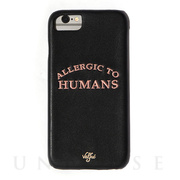 【iPhone8/7/6s/6 ケース】Allergic to Humans