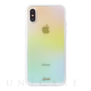 【iPhoneXS/X ケース】CLEAR COAT (COTTON CANDY)
