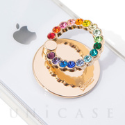PHONE RING (RAINBOW RHINESTONE)