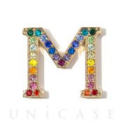 EMEBELLISHED STICKER (RAINBOW) (M)