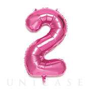 NUMBER BALLOON (PINK2)