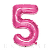 NUMBER BALLOON (PINK5)
