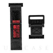 【AppleWatch SE/Series6/5/4/3/2/1(40/38mm) バンド】UAG ACTIVEシリーズ (ブラック)