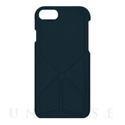 6cd0495585 【iPhone8 Plus/7 Plus ケース】スタンドケース (ネイビー)