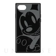 fd240d9b65 【iPhone8/7/6s/6 ケース】ガラスハイブリッドケース (ミッキーマウス