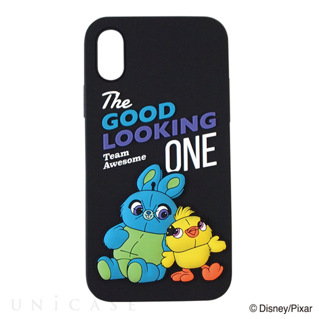 【iPhoneXS/X ケース】TOY STORY4 SILICONE iPhone Case (BK)