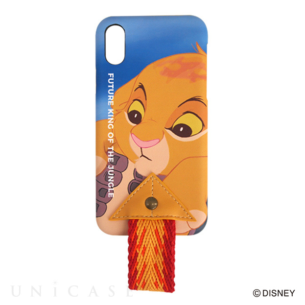 【iPhoneXS/X ケース】LION KING iPhone CASE (OR)