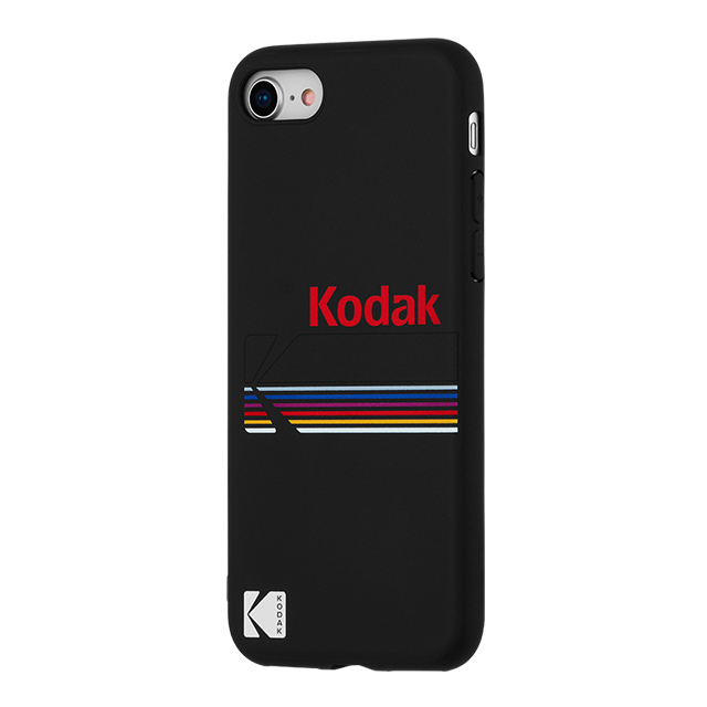 【iPhone8/7/6s/6 ケース】Kodak Case (Kodak Matte Black + Shiny Black Logo)サブ画像