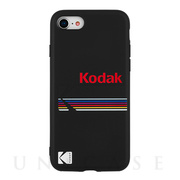 【iPhone8/7/6s/6 ケース】Kodak Case (Kodak Matte Black + Shiny Black Logo)