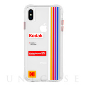 【iPhoneXS Max ケース】Kodak Case (Kodak Striped Kodachrome Super 8)