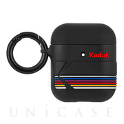 【AirPods ケース】Kodak Hook Ups (Matte Black + Shiny Black Logo)