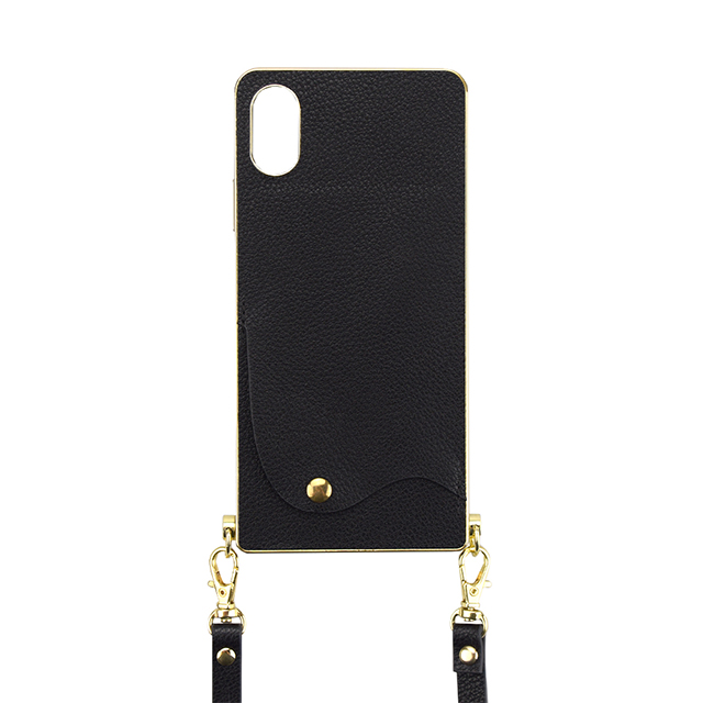 【iPhoneXS/X ケース】Cross Body Case for iPhoneXS/X(black)サブ画像