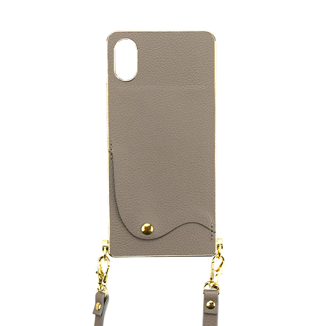 【iPhoneXS/X ケース】Cross Body Case for iPhoneXS/X(gray)サブ画像
