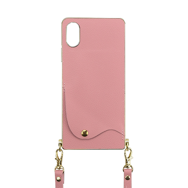 【iPhoneXS/X ケース】Cross Body Case for iPhoneXS/X(pink)サブ画像