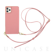 【iPhone11 Pro ケース】Cross Body Case for iPhone11 Pro (pink)