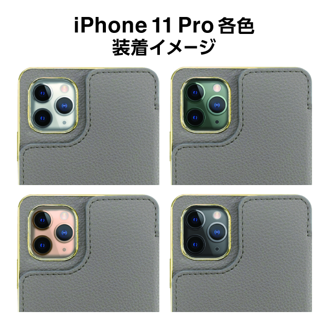 【iPhone11 Pro ケース】Cross Body Case for iPhone11 Pro (gray)