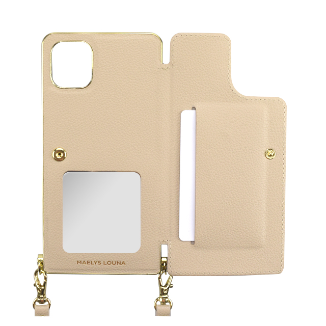 【iPhone11 Pro ケース】Cross Body Case for iPhone11 Pro (beige)サブ画像